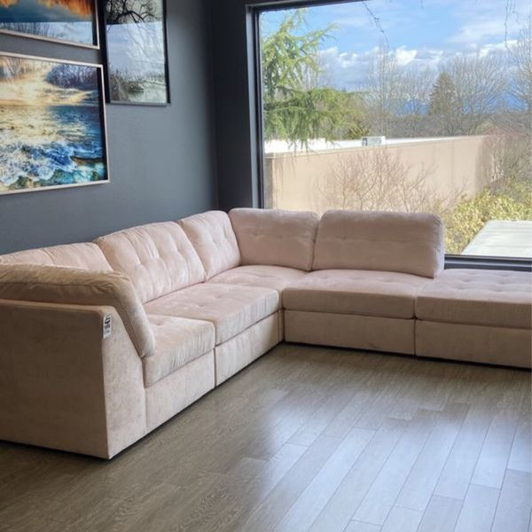 New & In Stock! 5 Piece Modular Sofa Only $999!
