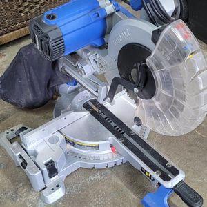 """Kobalt 10"""" Dual Bevel Sliding Miter Saw for Sale in Kent, WA"""