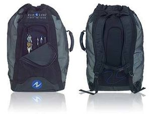 Aqua Lung Ocean Mesh Backpack Heavy Duty Scuba Diving for Sale in Miami, FL