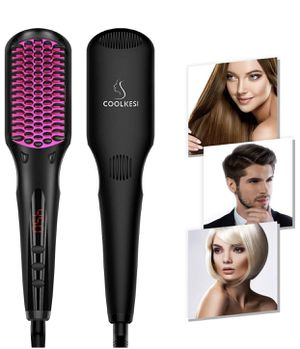 Ionic Hair Straightener Brush, Anti-scald Straightening Brush for Sale in Rosemead, CA