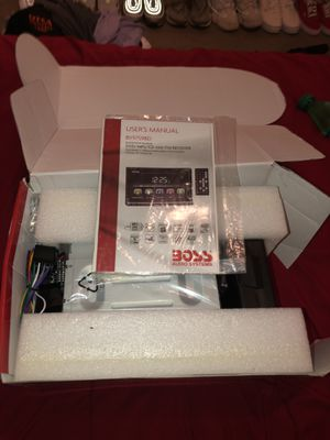 Boss Bluetooth stereo system for Sale in Austin, TX
