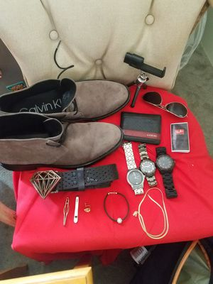 High End Products all 100% authentic Guess, Armani, Calvin Klein suede, MK for Sale in Simi Valley, CA