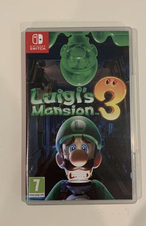 Luigis Mansion Nintendo Switch for Sale in Atlanta, GA
