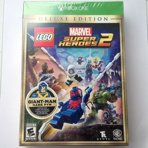 Lego Marvel Super Heroes 2 Deluxe Edition (Xbox One) for Sale in San Diego, CA
