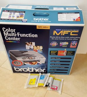 Brother MFC-440cn Network Printer with Scanner and Fax- AS NEW for Sale in Poway, CA