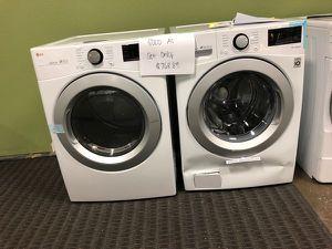 Brand New LG Front Load Washer/Dryer Set KJ2OB for Sale in Forney, TX