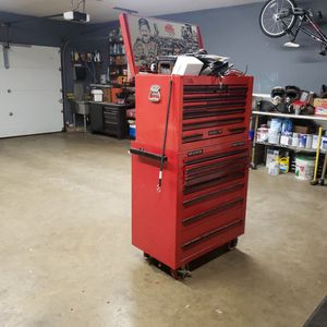 Mac Tools Rolling Tool Box. Both Upper And Lower. Rare Dale Earnhardt Edition #3Snap On for Sale in Bristol, CT