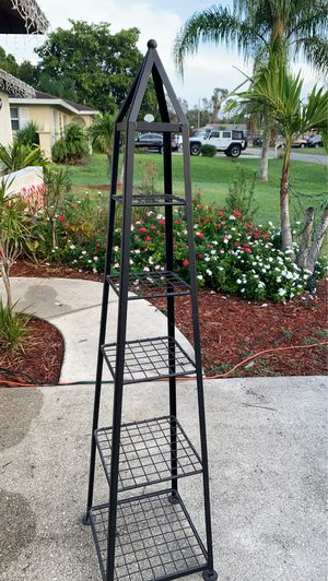 Tower shelving black for Sale in Fort Myers, FL