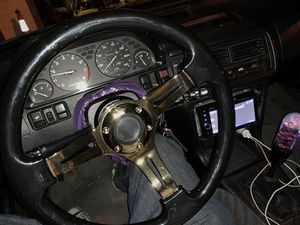 NRG Quick Release Steering Wheel Setups for Sale in Sacramento, CA