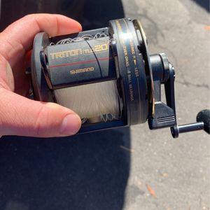 Tld 20 Fishing Reel for Sale in El Cajon, CA