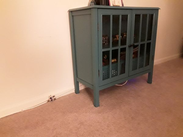 Green Target tv stand