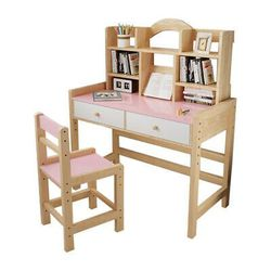 Brand New ASSMEBLED HBEILIN Kids Desk and Chair Set, Height Adjustable Wooden Kids Desk Chair for Sale in Oregon City,  OR