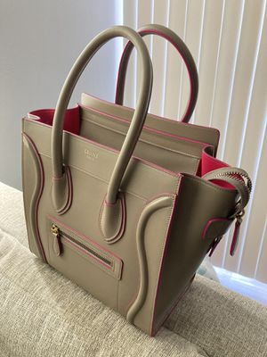 CELINE Micro Luggage Tote - Limited Edition - OR BEST OFFER for Sale in Irving, TX