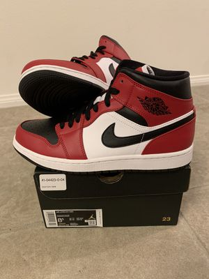 Nike Air Jordan 1 Mid Chicago Toe Size 8.5 for Sale in Orange, CA