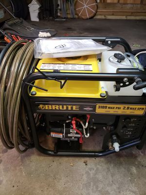 """New"" Brute pressure washer with water tank INCLUDED 500$ for Sale in Chicago, IL"