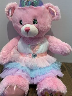 Build A Bear Workshop Pink Princess Teddy Bear With Dress for Sale in Kagel Canyon,  CA
