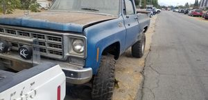 1978 gmc with 5.3 parts truck or finish up I can start it up so u can hear motor for Sale in Fontana, CA