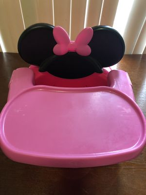 The First Years Minnie Mouse booster seat for Sale in Gaithersburg, MD