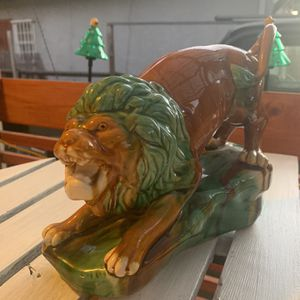 Mid Century Ceramic Lion for Sale in Oakland, CA