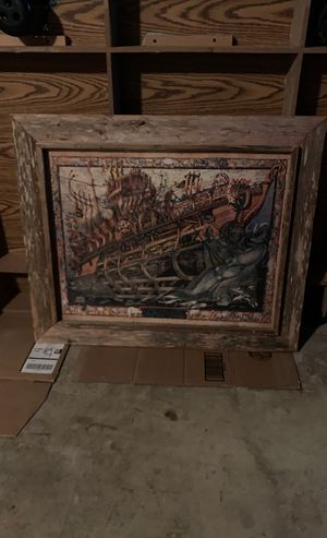 Puzzle frame of Noah's Ark for Sale in San Antonio, TX