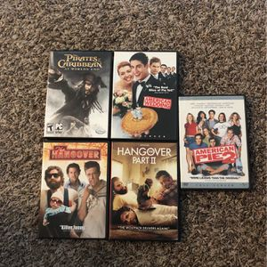 5 Movies DVD films tv comedy $5 for all or $2 each for Sale in Houston, TX