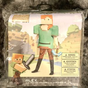 Minecraft Brand New Never Opened Alex Costume for Sale in Havertown, PA