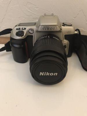 Nikon N60 Film Camera with 35mm Nikkor Lens for Sale in Neenah, WI