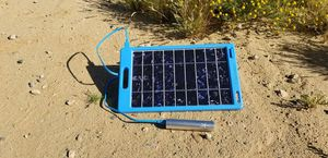 Portable solar panel/charging system for Sale in Highland, CA