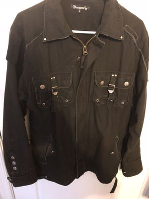 Black Dragonfly jacket men's size Medium for Sale in Alexandria, VA