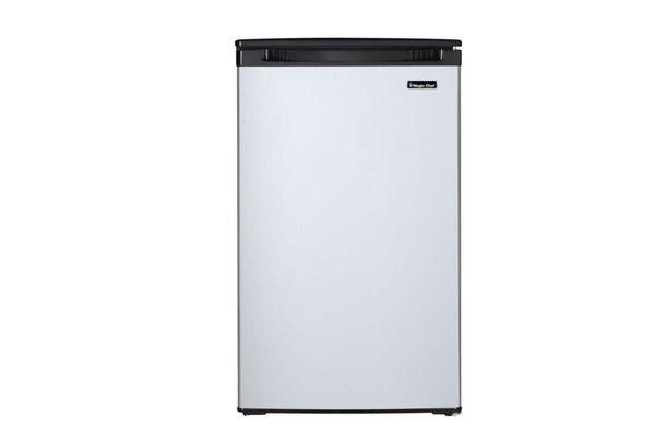 Magic chef mini fridge stainless steel design 4.4 cu. ft.