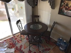 Nice table from room store willing to deliver for $25 for Sale in Phoenix, AZ