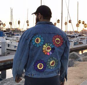 Takashi Murakami Jean jacket for Sale in South Gate, CA
