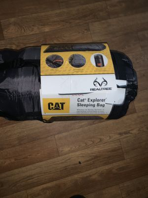 CAT explorer sleeping bag NEW for Sale in Raleigh, NC