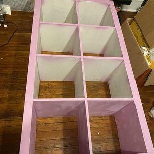 IKEA Kallax Bookcase 2 X 4 for Sale in Newark, NJ