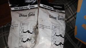 Fencing drive gate hardware set for Sale in Klamath Falls, OR