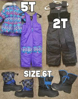 Kids Snow Suits and Winter Boots for Sale in Aurora, CO