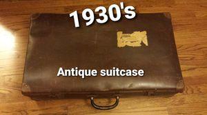 Antique suitcase 1930's for Sale in Covina, CA