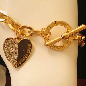 Mk Michael kors gold tone bracelet for Sale in Silver Spring, MD