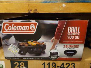 Brand new Coleman portable grill for Sale in Wichita, KS