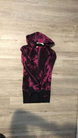 Pink Lululemon like new zip up hoodie size 4 for Sale in Vancouver, WA