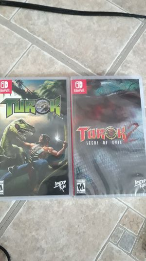 Turok 1 and 2 Switch for Sale in Malden, MA