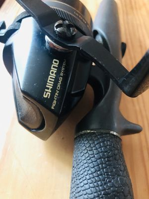 fishing rod and reel shimano brand for Sale in Fort Washington, MD