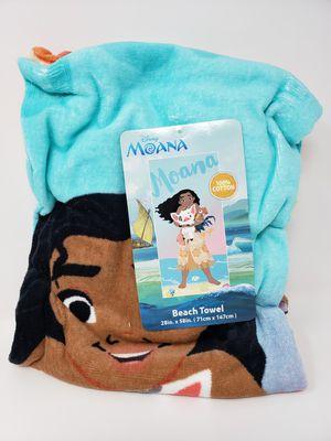 "Disney Moana Beach Towel 28""x58"" NWT for Sale in San Diego, CA"