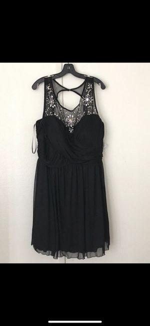 Black sleeveless dress see description for sizes for Sale in Riverside, CA