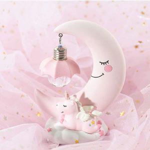 Baby Night Light Cute Unicorn Moon Night Light for Kids Baby Girls for Sale in Covina, CA