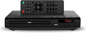 DVD Player for TV - Compact Multi Region DVD/SVCD/CD/Disc Player with Remote Control, Built-in PAL/ NTSC System, USB Port for Sale in Houston, TX