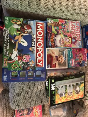 Puzzles & games, toys & kids' movies for Sale in Houston, TX