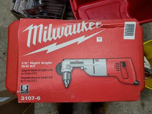 Milwaukee 1/2 right angle drill for Sale in Deerfield, OH
