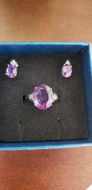 10 k amethyst set for Sale in San Jose, CA