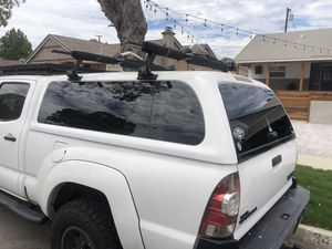$1200 Snug Top Expedition Camper Shell Long Bed Toyota Tacoma 2nd Generation White for Sale in Long Beach, CA